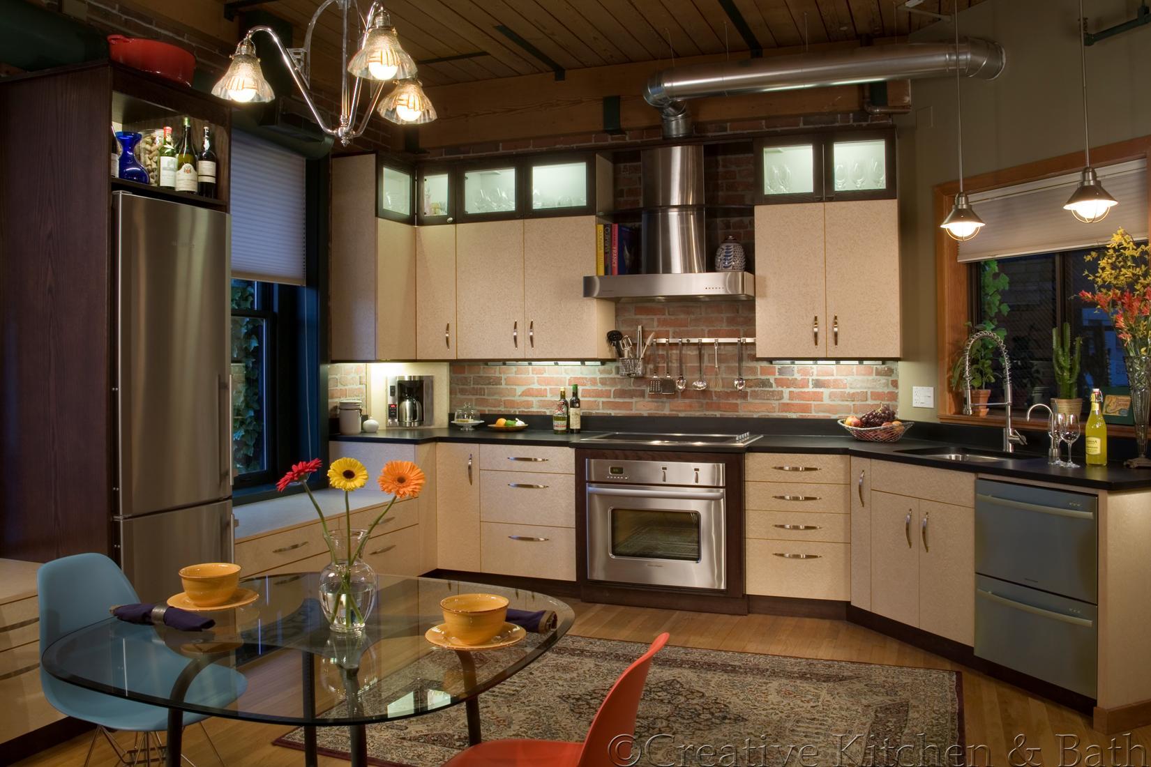 Kitchen Design Ideas For Medium Kitchens creative kitchen & bath | kitchen designs